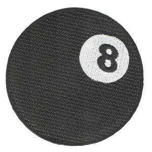 PARCHE-bordado-en-tela-BOLA-8-EMBROIDERED-PATCH