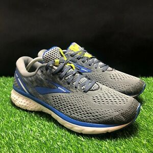 Brooks Ghost 11 Mens Gray Blue Athletic