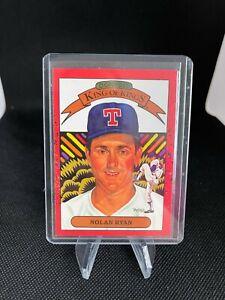 "1990 Donruss Nolan Ryan Diamond King of Kings ""Error"" Card missing #665 NM-MT"