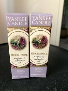 Yankee Candle Potpourri Refresher Oil Lilac Blossoms X2 Ebay