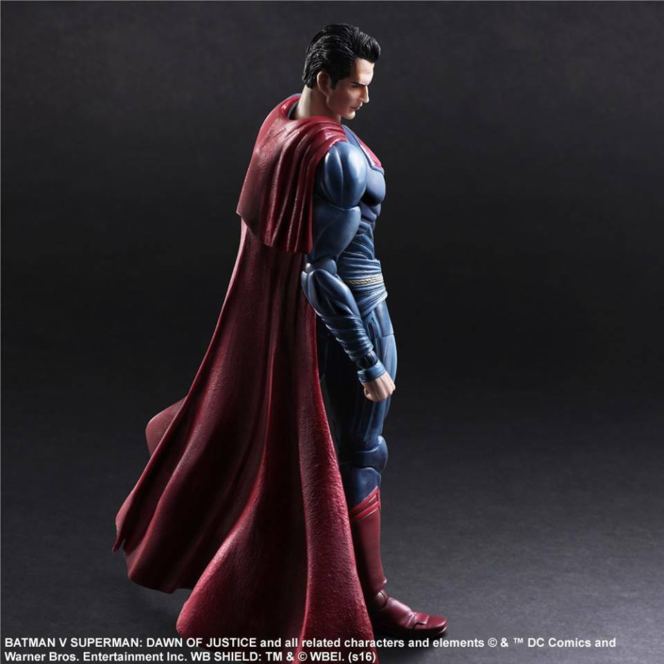 1 7 Scale Play Arts Kai Batman Vs Superman Superman SQEN-162550