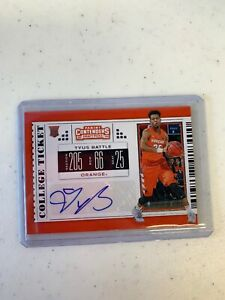 2019-20-Panini-Contenders-Draft-Picks-Tyus-Battle-College-Ticket-Rookie-RC-Auto
