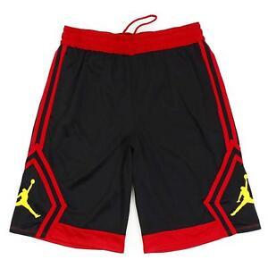 Jordan-Rise-Diamond-Basketball-Shorts-Black-Red