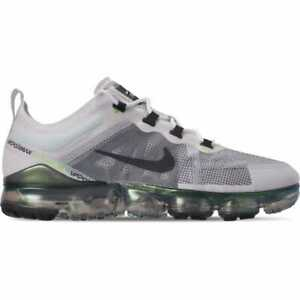 reputable site 73416 e1100 Image is loading Nike-Air-VaporMax-2019-Premium-White-Grey-Platinum-