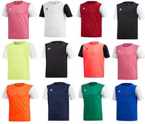 Adidas Garçons Football shirt jersey Estro 19 Kids Sports Tops T Shirt T-shirt Taille