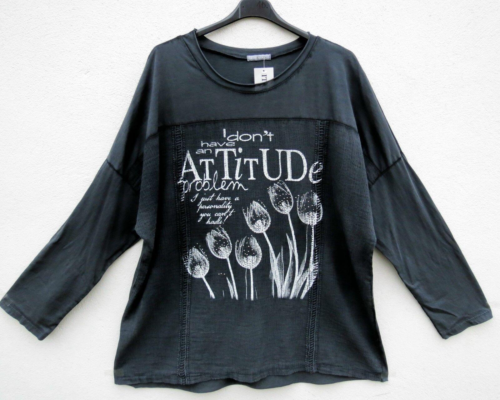 NEU  Moda Tunika Tunic Tunique Shirt XL 48 50 Lagenlook