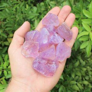100gNatural-Raw-Amethyst-Gravel-Rough-Quartz-Crystal-Stone-Specimen-Healing-Bulk