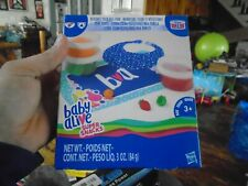 2 Packs 2 Baby Alive Super Snacks Reusable Solid Doll Food Bib and placemat