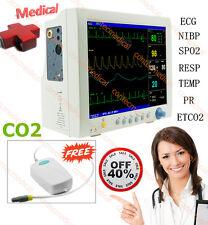 Cms7000 Cardiac Machine Vital Signs Icu Ccu Patient Monitor Free Co2 Capnograph