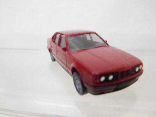 Eso-962 Herpa 1:87 BMW 535i rosse-marroni ottime condizioni