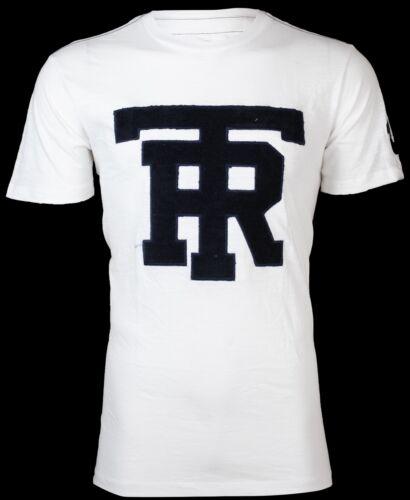 True Tr Religion Nwt T Hommes Jacquard Jeans W 79 Of shirt Blanc University Navy aHrawYq