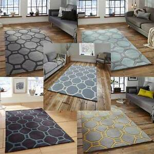 Image Is Loading Think Rugs Hong Kong 4338 Hand Tufted Rug