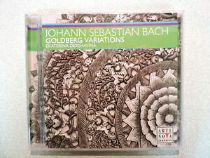 BACH-Goldberg-Variations-BWV988-CD-Ekaterina-Dershavina-Arte-Nova-SEALED