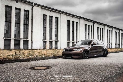 NERO Ad Alta Lucida renale Set 1er BMW e87n LCI Griglia Anteriore M salberk 8201dl
