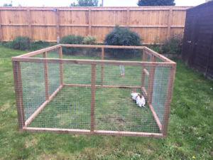 Image Is Loading Rabbit Hutch Like Cage Run And Play E