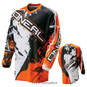 O'NEAL Element CHOQUANT orange tricot jersey PILOTE shirt MX MOTOCROSS