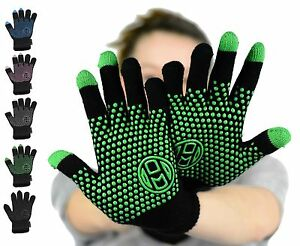 26662b809 Details about Mato & Hash Touchscreen Compatible Tech Gloves with Grip Palm