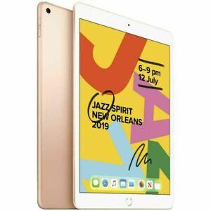 Apple-iPad-7th-Gen-128GB-WiFi-Unlocked-10-2-034-GOLD-MW6D2X-A-AU-STOCK-AS-NEW
