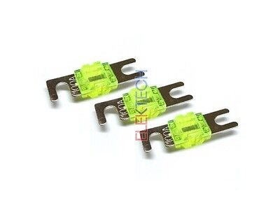 Stinger SPF5830 Midi Style Fuses 30 amp Mini Blade Shoc-Krome PRO Pack of 3