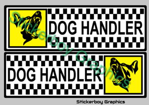K9 Unit Magnet Magnetic Head K9 Unit DOG Handler SECURITY SIA PATROL 300mm x1
