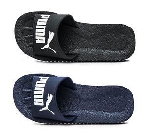 4629d3f61e48ea Puma Pure Cat Slides 360262 01 Sandals Beach Flip Flops Shoes ...