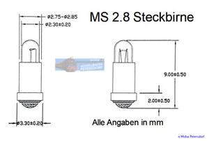 Lampes-de-Rechange-Micro-Ampoules-2-8x4mm-Transparent-10-Unites