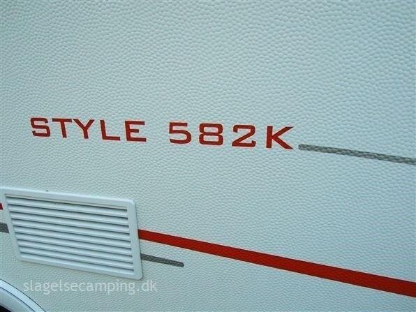 LMC Style 582 K, kg egenvægt, kg totalvægt
