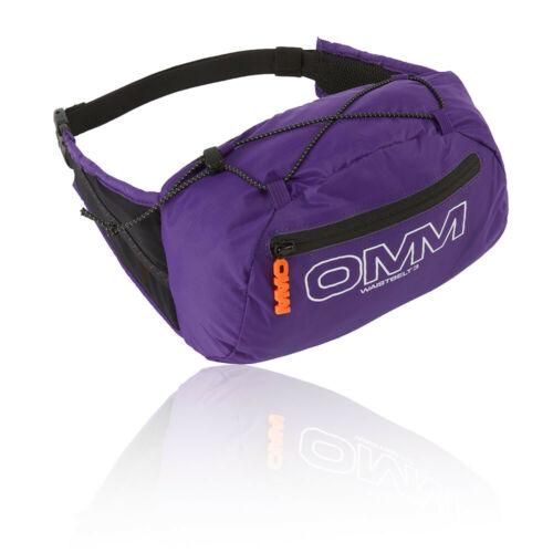 OMM Unisex Classic Waistbelt 3 Purple Sports Running Breathable Pockets Zip