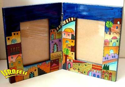 Bar Or Bat Mitzvah Picture Frame Jewish Gift Judaica Home Hand Painted