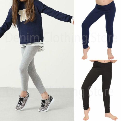 Girl/'s Kids Children Full-Length Cotton Summer Leggings Stretchy Toddler S M L