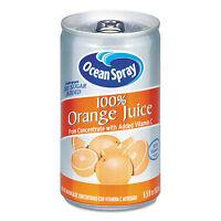 Ocean Spray 100% Juice Orange 5.5 Oz Can 20453 on sale