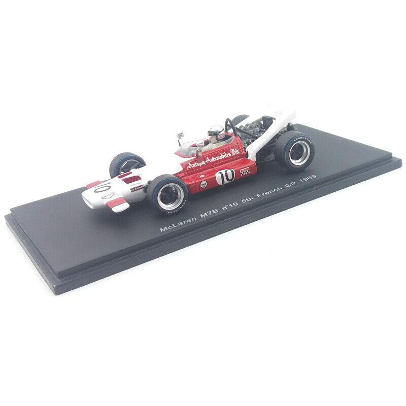 1969 McLaren  M7B - Vic Elford - French GP - 1 43 Spark Models  magasin d'usine