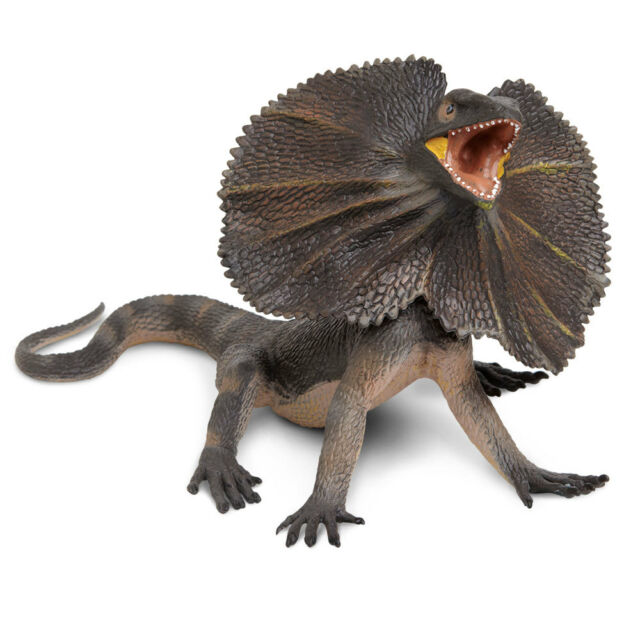 Action Figures Safari Incredible Creatures- Frilled Lizard ...