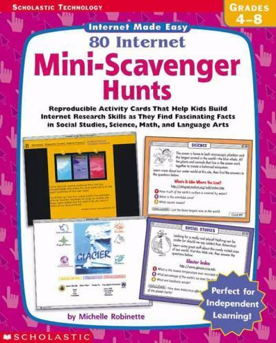Scholastic Technology Internet Made Easy 80 Internet Mini-scavenger Hunt By Ro - $1.00