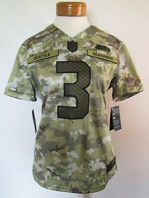 NWT Nike Russell Wilson Seattle Seahawks Womens STS Limited Jersey L Camo $170 191887326977 | eBay