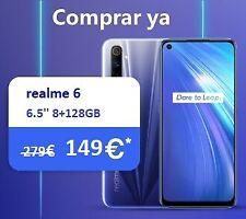 "realme 6 6,5"" Dual Sim 8+128GB Handy 64MP Kamera  Android Smartphone OctaCore"
