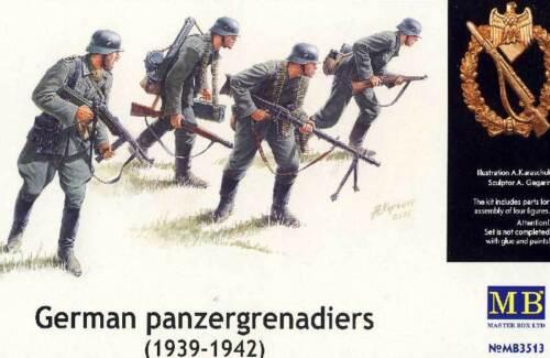 Masterbox German panzergenadiers Deutsche Panzergrenadiere 1:35 Front  Bausatz