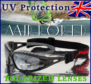 Xtreme-2in1-POLARIZED-Goggles-Sunglasses-4-Kayaking-Boating-Light-Mirrored-Lens