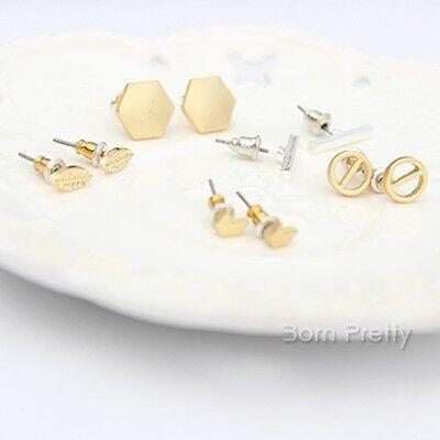1 Pair Simple Geometric Earring Mini Figure Ear Stud  Fashion Earring