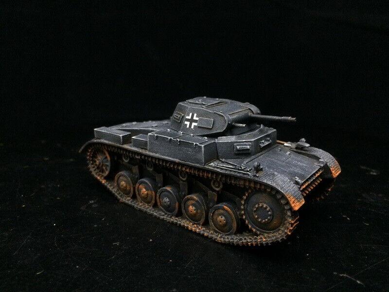 1 56 28mm del Departamento de Seguridad Pública Pintado Segunda Guerra Mundial Perno acción Wehrmacht alemana Tanque Panzer PzII F GH1432
