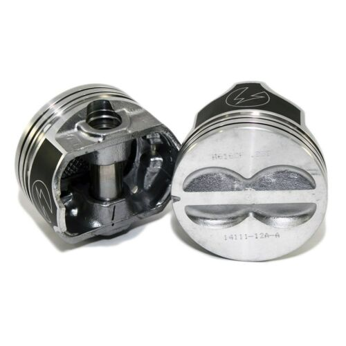 Speed Pro FMP H616CP Flat Top Pistons 400 Small Block Chevy 5.7 Rod STD Bore