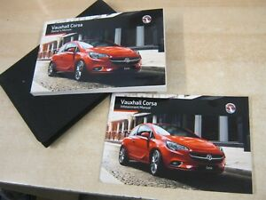 owners manual vauxhall corsa 2013