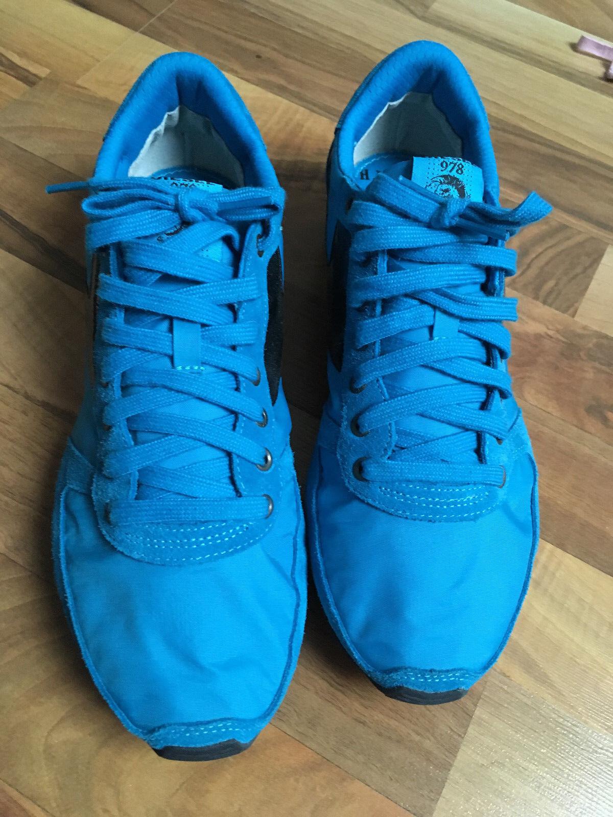 DIESEL Sneakers Blau Größe 42 Neuwertig