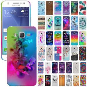 buy online 4bf63 1eddd Details about For Samsung Galaxy J7 J700 Phone Design Protector Hard Back  Case Cover Skin