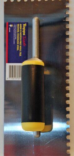 Tilers Pro Floor Trowel 6mm U Notch Tile Adhesive Stainless Steel Limited Offer