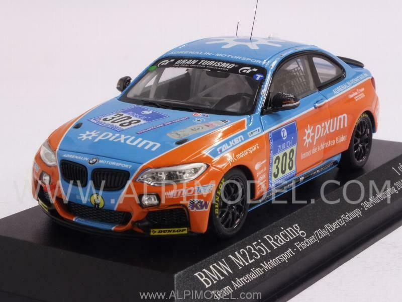 BMW M235iI Racing Team Adrenalin Motorsport Nurbu 1 43 MINICHAMPS 437142408
