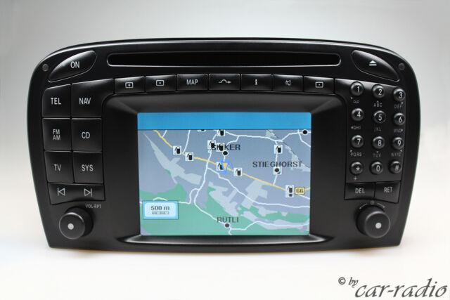 Original Mercedes Comand 2 0 R230 SL-Class Navigation System EU Version OEM