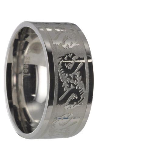 Edelstahl L316 Ring Partnerring Freundschaftsring Ehering Gravur inclusive 10011