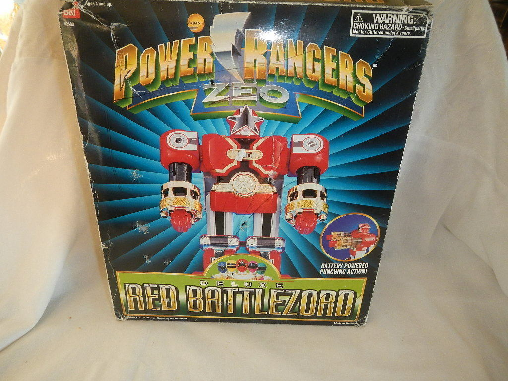 mejor calidad Power Rangers Rangers Rangers Zeo Deluxe Battlezord Rojo  oferta de tienda