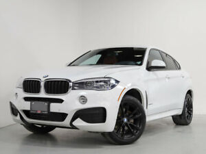 2017 BMW X6 XDrive35i I M-SPORT I RED LEATHER I 20 IN WHEELS